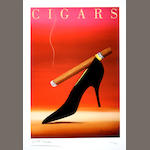 Cigars-Razzia (small, framed)