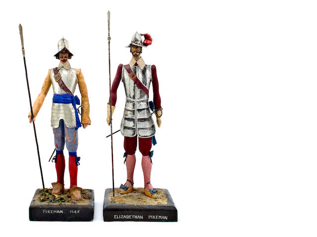 a pair of Pikemen