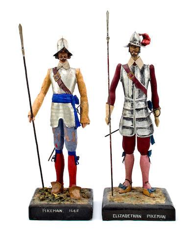 a pair of Pikemen