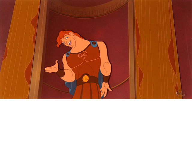A Walt Disney celluloid from Hercules