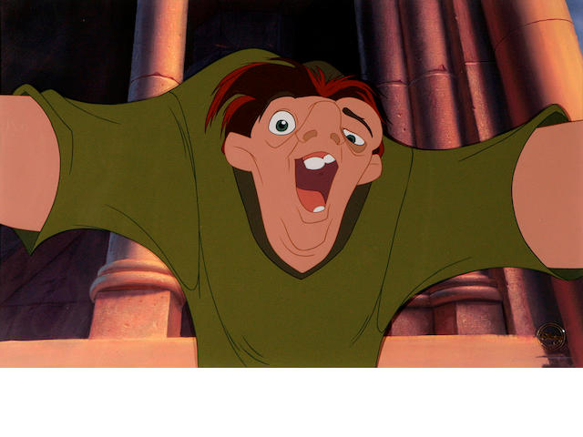 A Walt Disney celluloid from Hunchback of Notre Dame