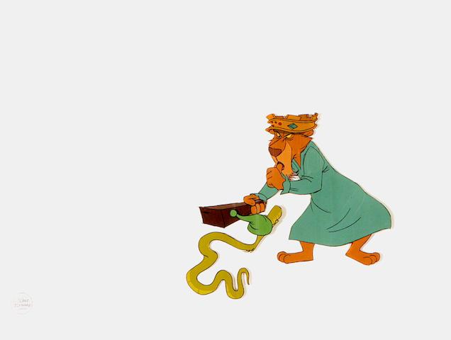 A Walt Disney celluloid from Robin Hood