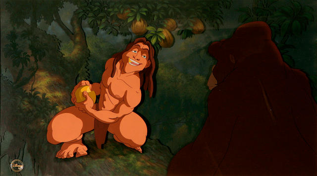 A Walt Disney celluloid from Tarzan