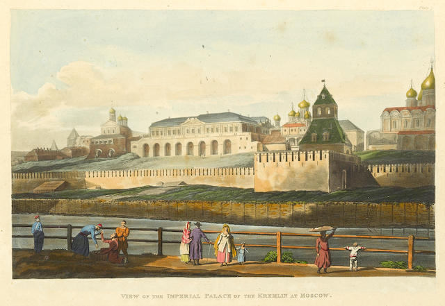 MOSCOW VIEWS. Historical Sketch of Moscow. London: Rudolph Ackermann, 1813.