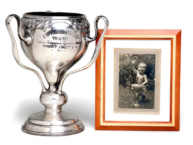 Horse Trophy Loving Cup and related photograph