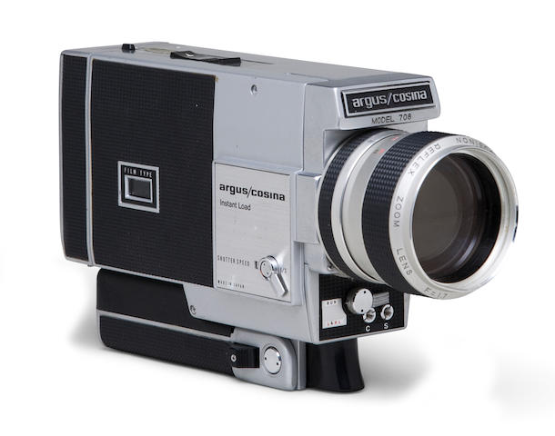 Jacqueline Kennedy's 8mm movie camera Argus-Cosina, Japan, 1970-2
