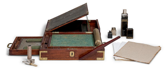 A rare portable copying machine by James Watt & Co., English