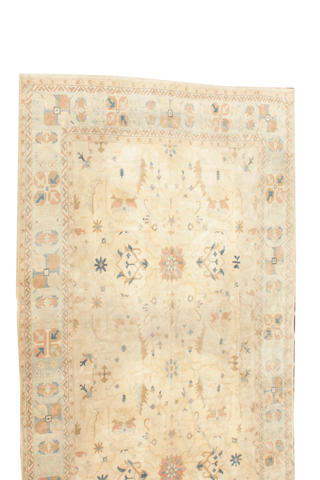 An Indian carpet size approximately 17ft. x 25ft.