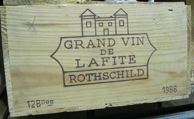 Chateau Lafite Rothschild 1986 (12)