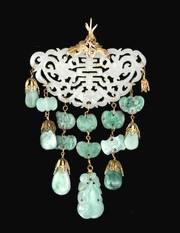 A jade pendant
