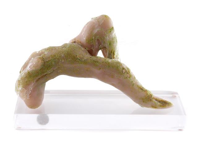 A Loredano Rosin for Mazzega glass figural sculpture