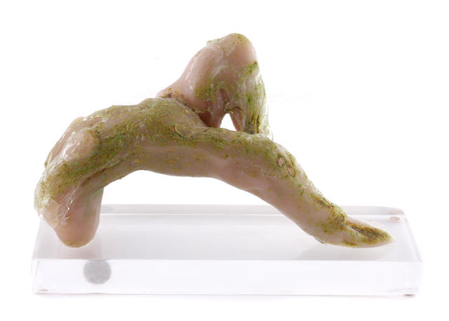 A Loredano Rosin for Mazzega glass figural sculpture