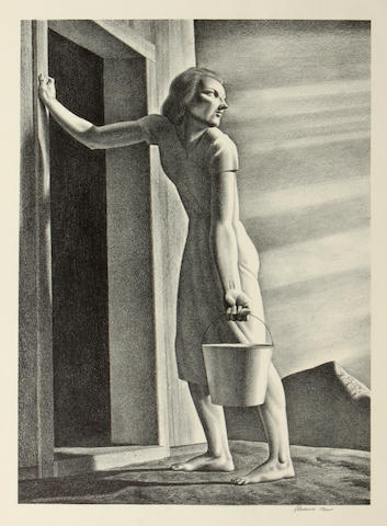 Rockwell Kent (American, 1882-1971); Good-Bye Day;