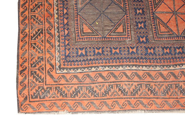 A Belouch rug approximate length 7ft. 5in. x width 4ft. 7in.