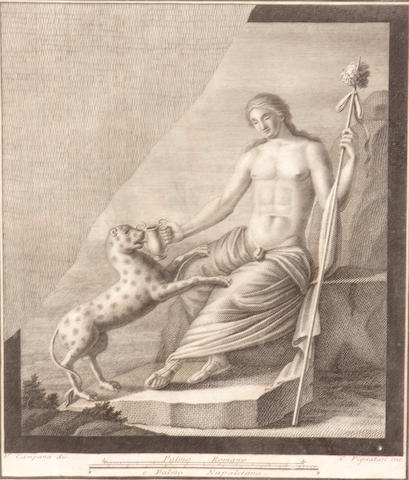 Italian School, a pair of engravings