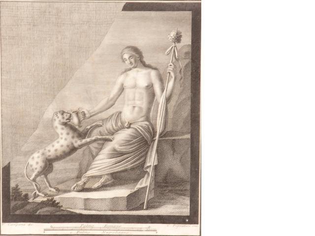 Italian School, a pair of engravings