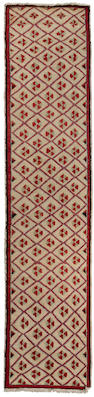 An Oushak runner<BR />West Anatolia, circa 1900 approximate size 10ft 4in x 2ft 1in (315 x 63.5cm)