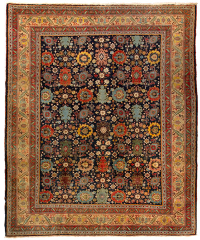 A Tabriz carpet<BR />Northwest Persia, circa 1910 approximate size 8ft 9in x 11ft 9in (266.5 x 358cm)