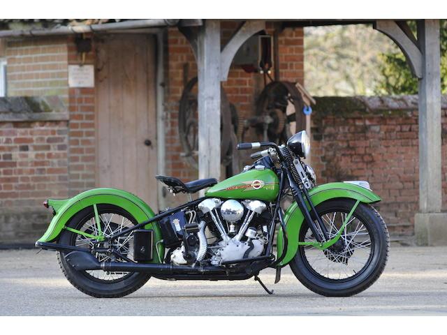 1938 Harley-Davidson EL Engine no. 38EL88896
