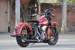 1945 Harley-Davidson FL 'Knucklehead' Engine no. 45FL1464