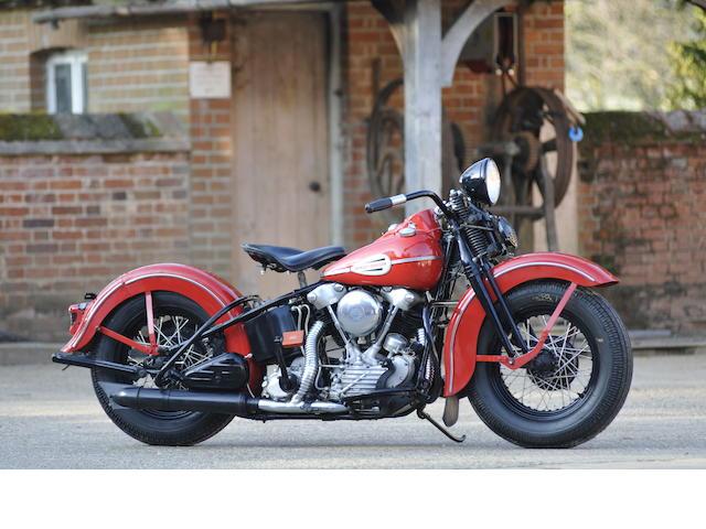 1945 Harley-Davidson FL Engine no. 45FL1464