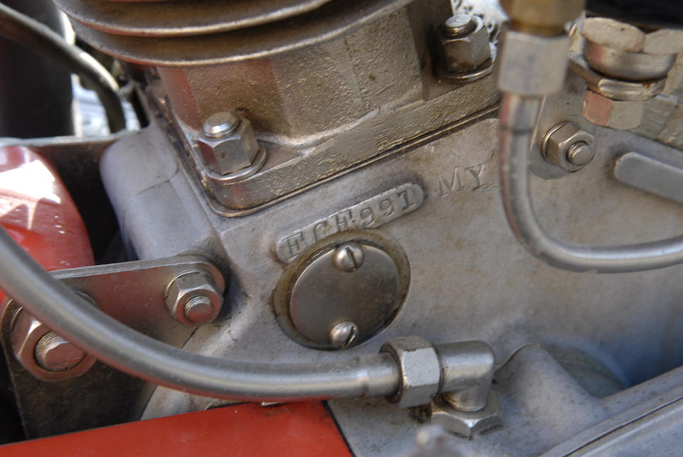 1936 Indian Sport Scout Engine no. FCF991 MY