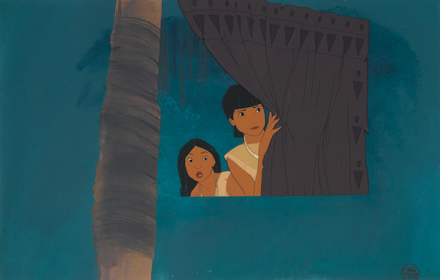 A Walt Disney celluloid from Pocahontas