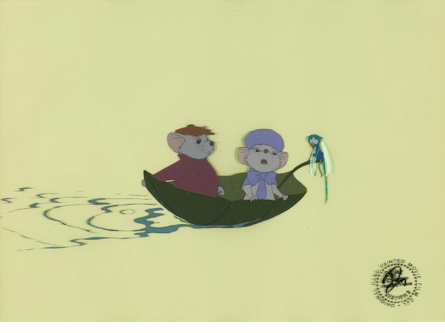 A Walt Disney celluloid from The Rescuers