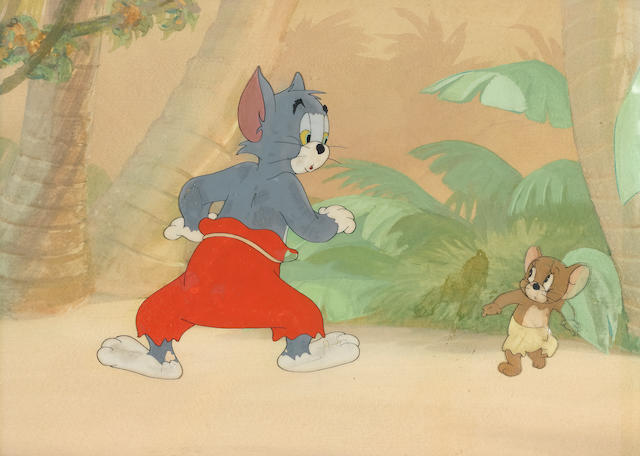 An MGM celluloid of Tom and Jerry