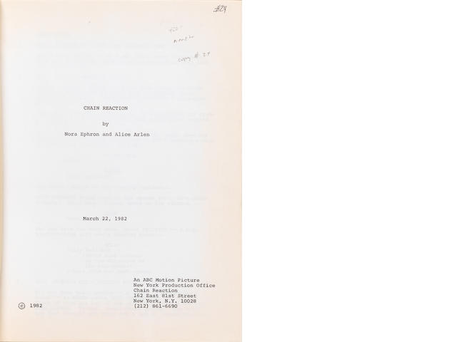 An early script for Silkwood