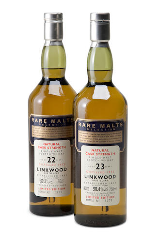 Linkwood-23 year old-1972Linkwood-22 year old-1972