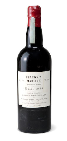 Hine Grande Champagne Cognac 1948 (1)<BR />Blandy's Bual Madeira 1954 (1)