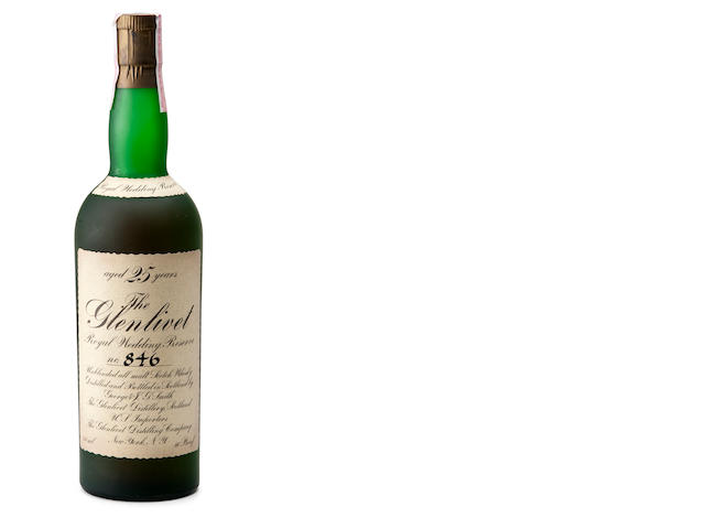 The Glenlivet Royal Wedding Reserve 25 year old