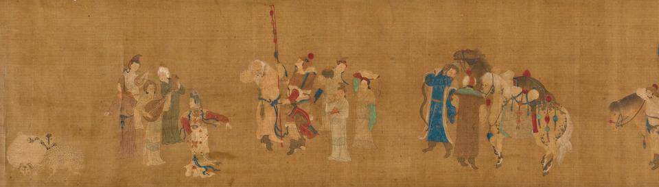Anonymous (17th century) Mongolian scene