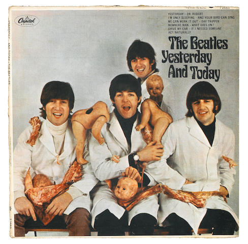 A Beatles Yesterday and Today Butcher first state mono LP
