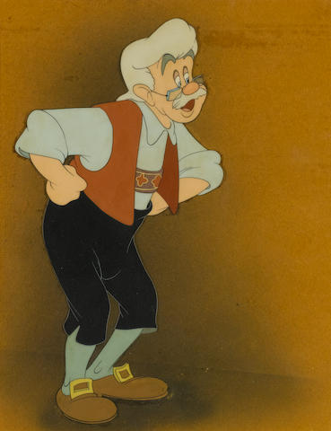 A Walt Disney celluloid from Pinocchio