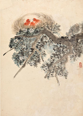 Jiang Pu (1708-1761) Birds and Insects