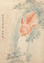 Jiang Pu (1708-1761) Album of Birds, Fish, Reptiles and Insects