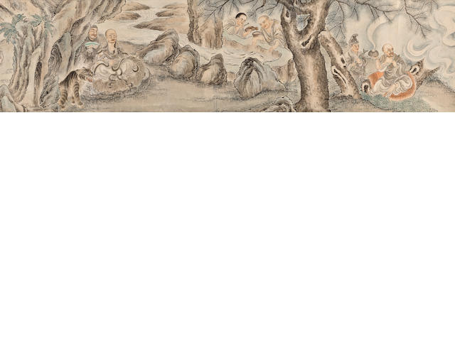 Anonymous, Gathering of Lohan circa 1900