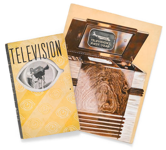 Two television pamphlets pertaining to television's first year