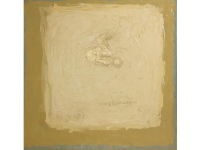 Sol LeWitt (American, 1928-2007) Somersaulting, c. 1962 27 1/2 x 27 1/2in