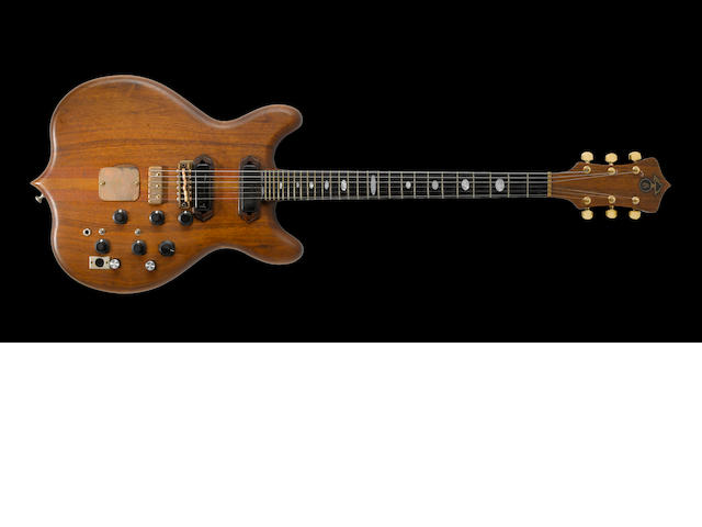 "A Jerry Garcia-owned custom Alembic electric guitar, ""Lucky Number 13"""