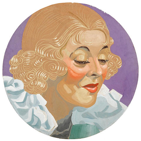 A Bette Davis portrait
