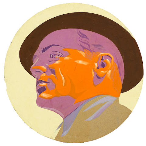 A James Cagney portrait