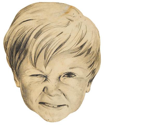 A Jackie Cooper portrait