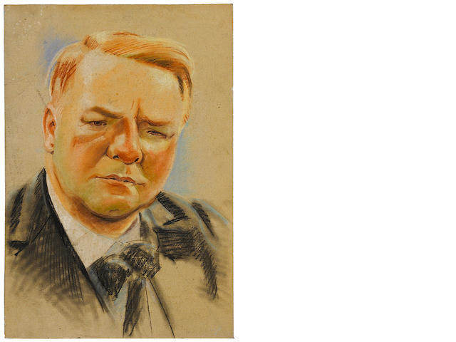 A portrait of W.C. Fields