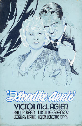 Mae West, Klondike Annie, Paramount, 1936, with Silly Billies on the verso
