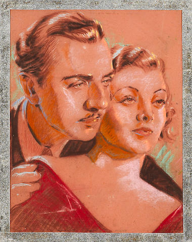 A portrait of Myrna Loy and William Powell