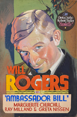 Will Rogers, Ambassador Bill, Fox, 1931