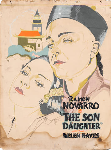 An original promotional painting for The Son Daughter